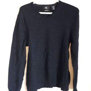 Calvin Klein Extra Fine Merino Wool Sweater black